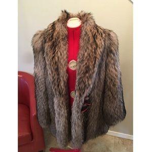 Jackets & Blazers - Real fur winter coat